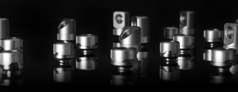 EK-Quantum Torque Satin Titanium