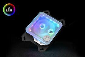 EK-Quantum Velocity D-RGB - AMD Nickel + Frosted Plexi