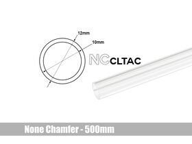 Bitspower None Chamfer Crystal Link Tube OD 12MM - Length 500MM