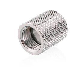 Bykski 19mm Rotary F-F G1/4 Fitting Silver