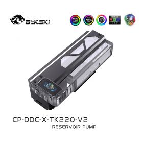 Bykski TK220-V2 Luminous Symphony Square Reservoir Pump