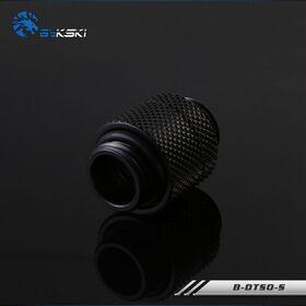 Bykski 15mm Rotary M-M G1/4 Fitting Black